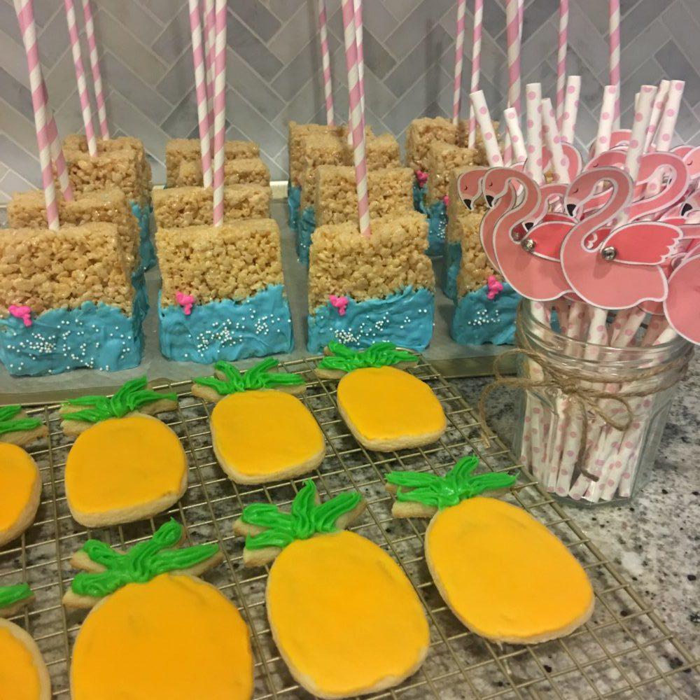 Flamingle! DIY Party Treats