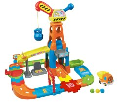 Gifts For Toddlers - VTech Go! Go! Smart Wheels Construction Playset