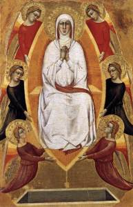 GHERARDUCCI Don Silvestro dei Assumption of the Virgin 1365