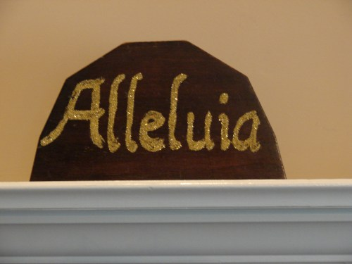 Alleluia Mantle