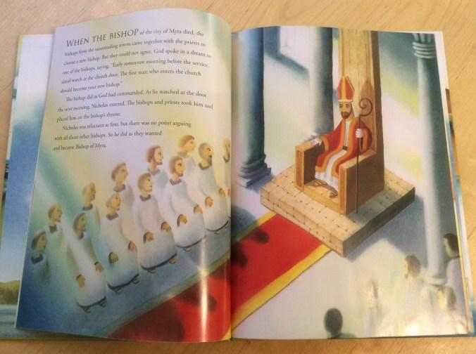 St. Nicholas elected as bishop
