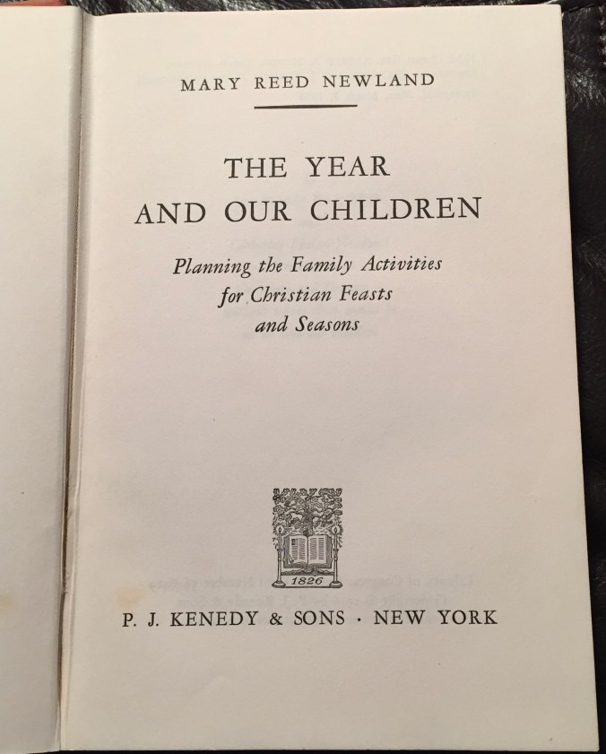 The Year and Our Children Title Page