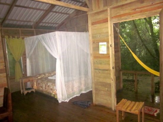 espino blanco lodge, Costa Rica, cabin interior / Family Focus Blog