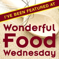 Wonderful Food Wednesday Featured Button