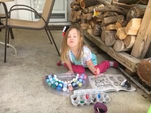 Amelia painting