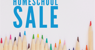 Homeschool Resources Sale
