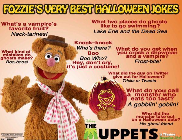fozzie bear halloween jokes