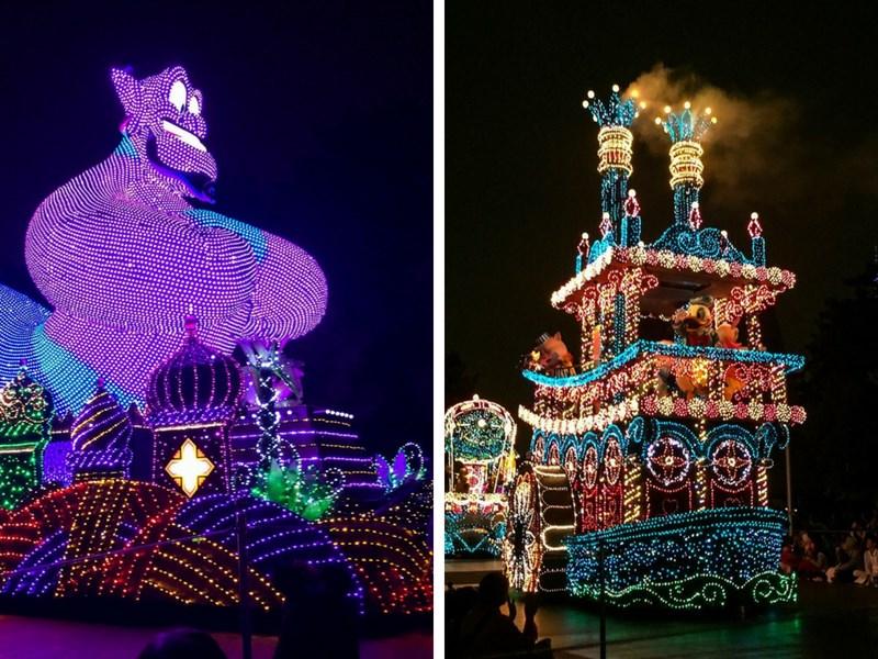 Tokyo Disneyland Tips Night Parade