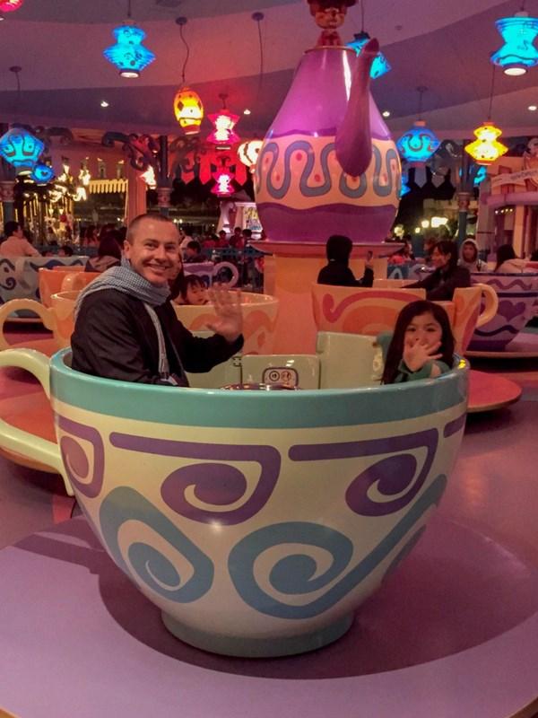 Tokyo Disneyland Tips Teacup Ride