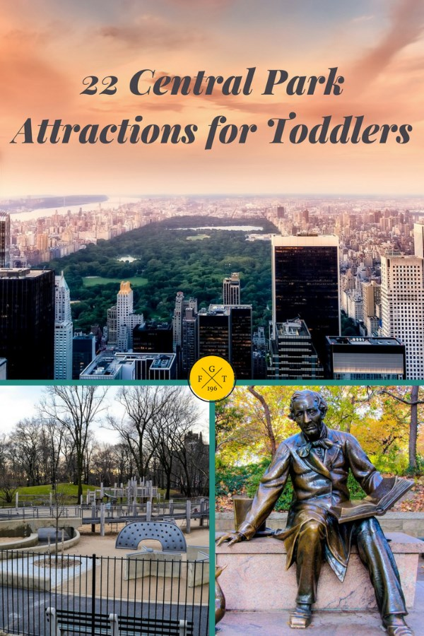 Central Park Attractions for Toddlers