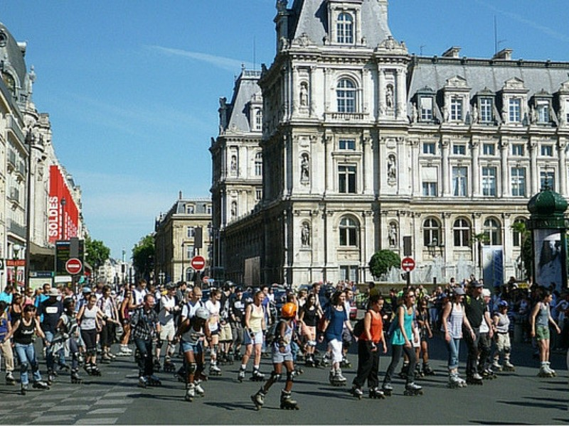 Paris for Teenagers City Rollerblading