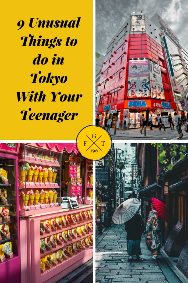 9 Unusual Things to do in Tokyo With Your Teenager