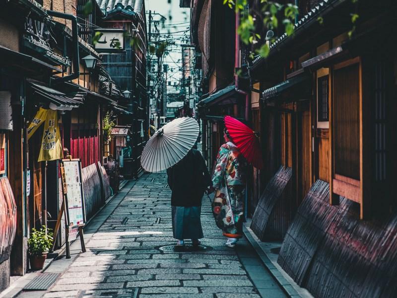 Things to do in Tokyo Women in Kimono