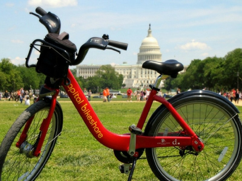Washington DC with Teenagers Capitol Bikeshare
