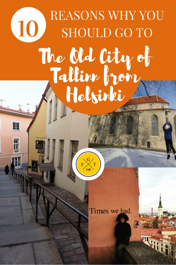 10 Reasons Why You Should go to Old Town Tallinn From Helsinki