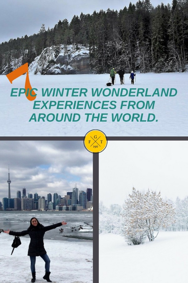 7 Epic Winter Wonderland Experiences From Around The World
