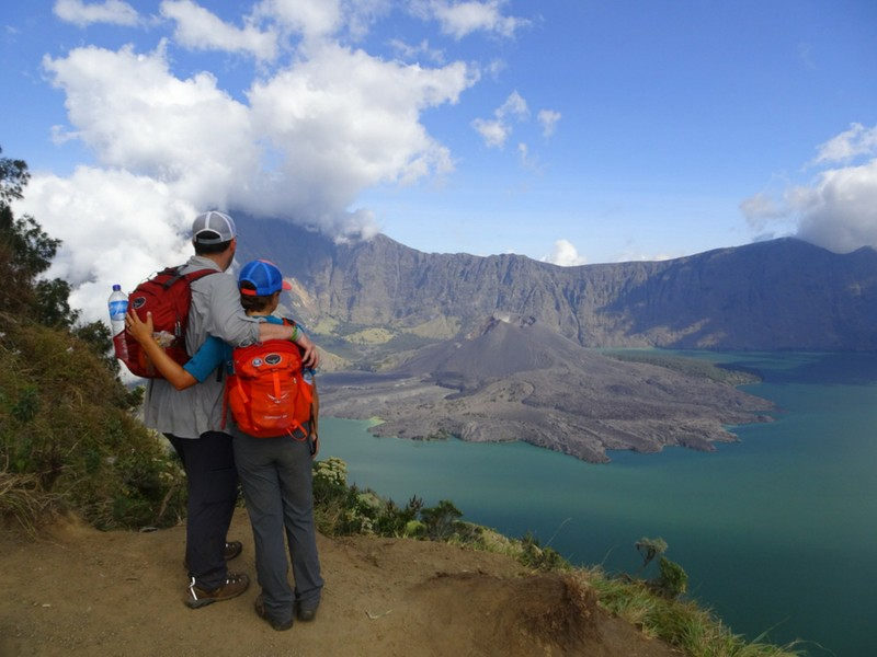 Adventures in Southeast Asia Trekking Mount Rinjani in Indonesia