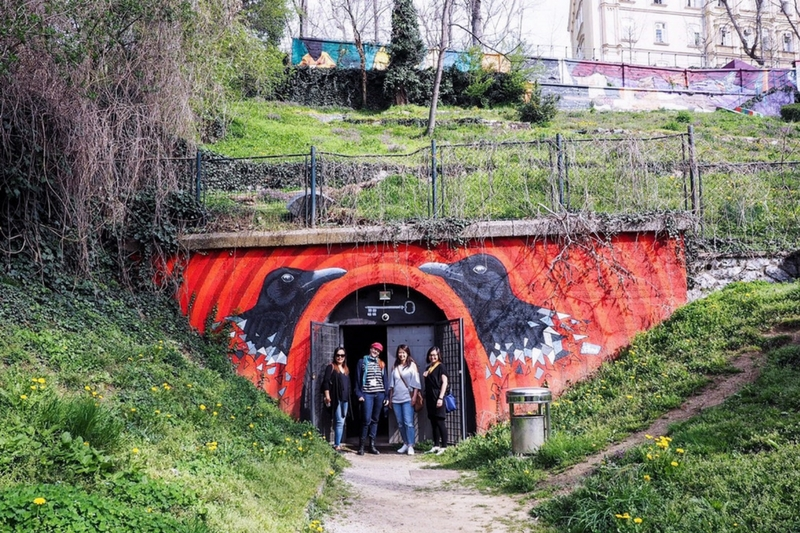 Tunnel Zagreb off the beaten path