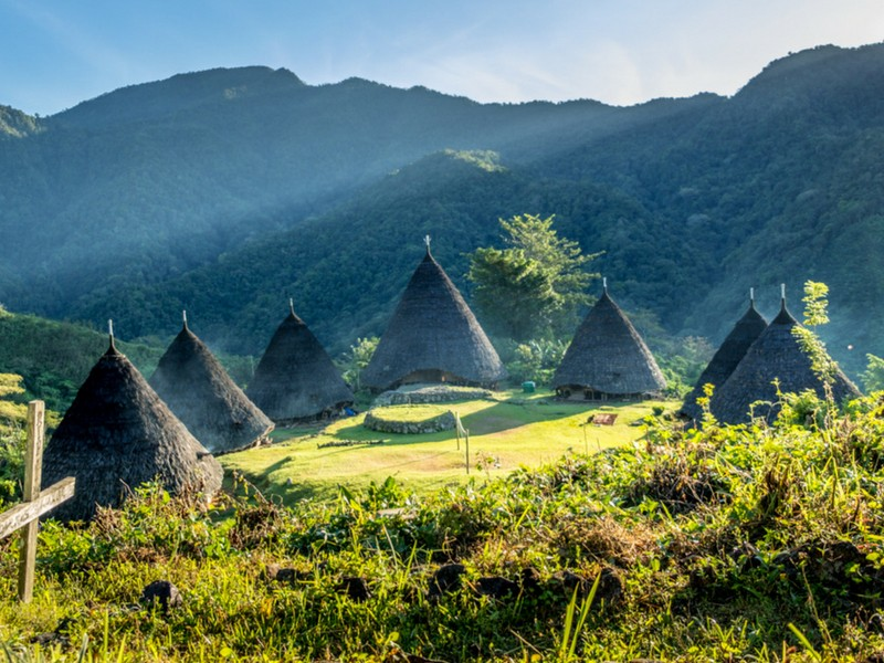 Adventures in Southeast Asia Village of Wae Rebo in Flores, Indonesia