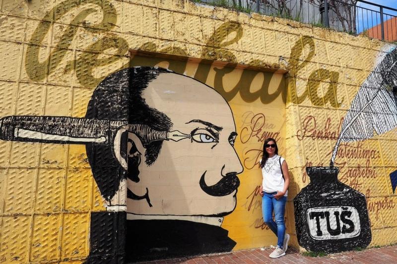 Zagreb street art off the beaten path Penkala