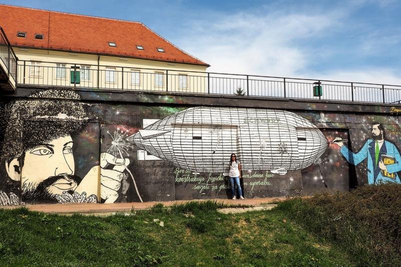 Zagreb street art off the beaten path Schwartz