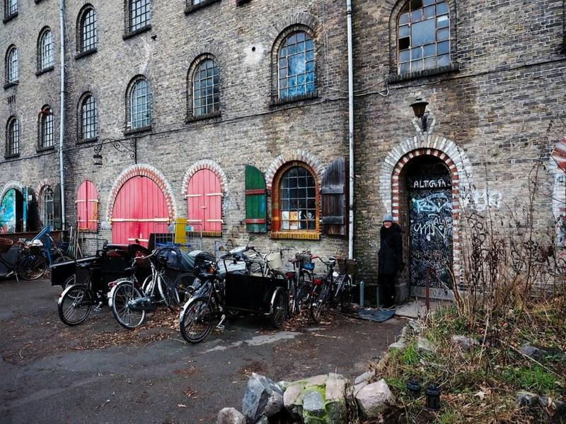 Copenhagen on a Cargo Bike Freetown Christiania