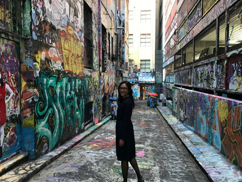 Instagrammable street art Melbourne