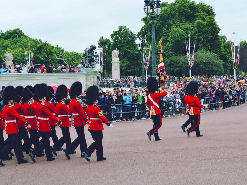 Things to do in London with kids Changing of the Guards