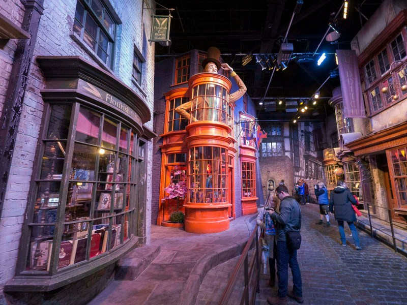 Things to do in London with kids Harry Potter Studios