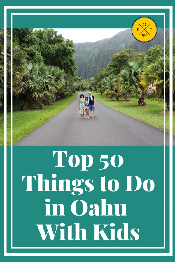 Top 50 Things to Do in Oahu With Kids