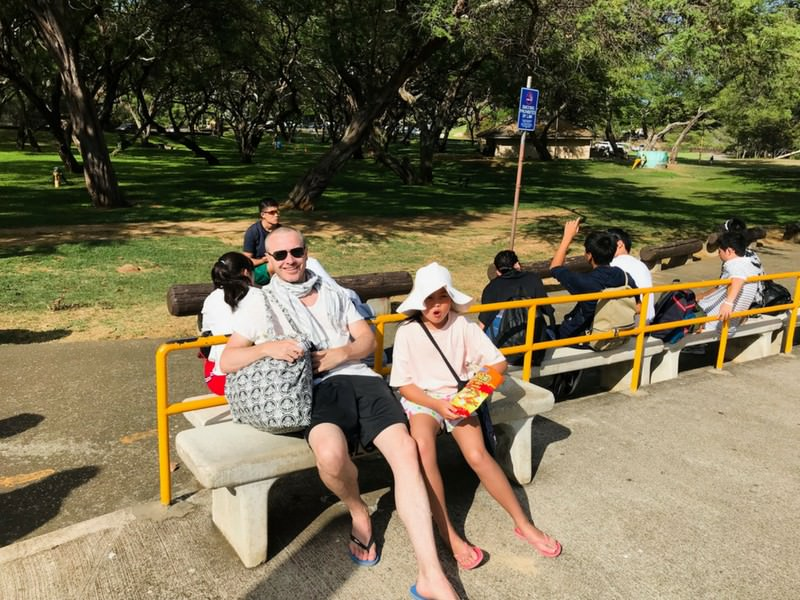 Hanauma Bay bus stop