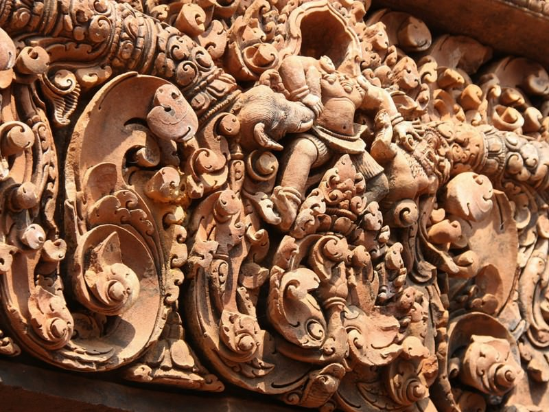 Bas Reliefs Angkor Wat