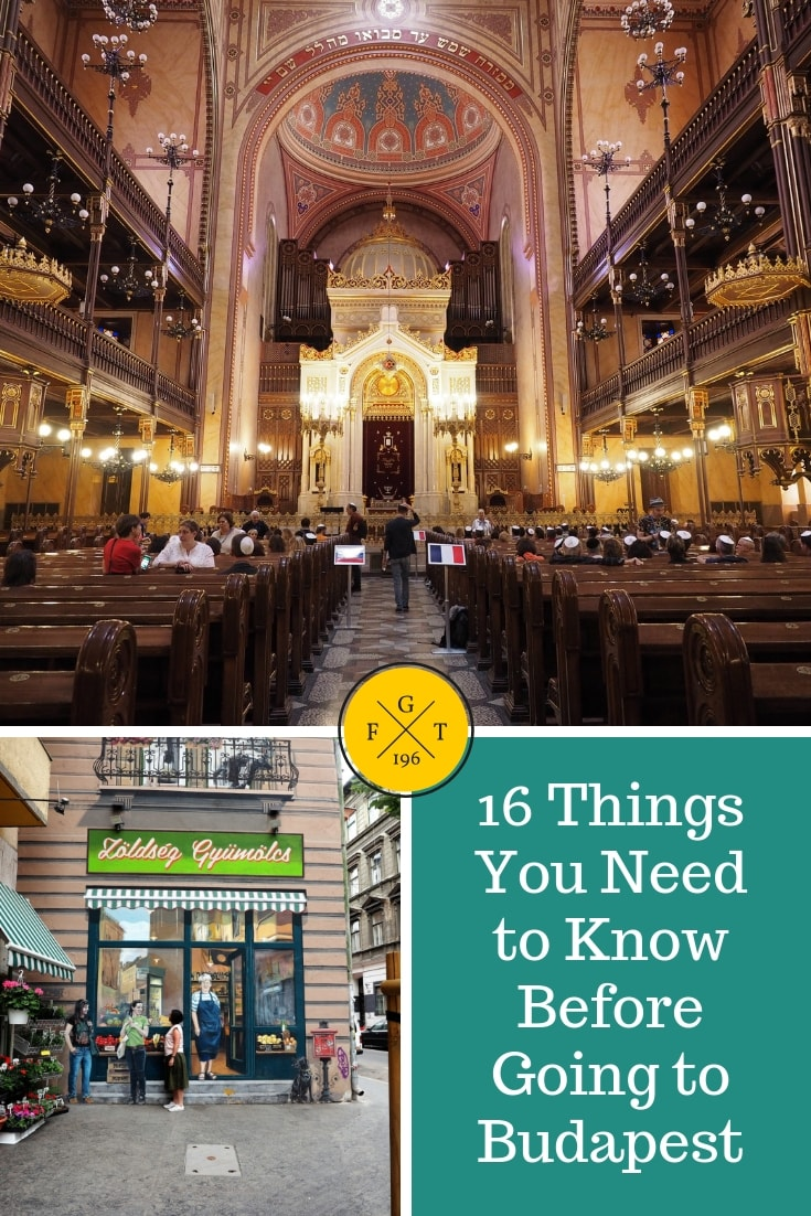 16 Things You Need to Know Before Going to Budapest