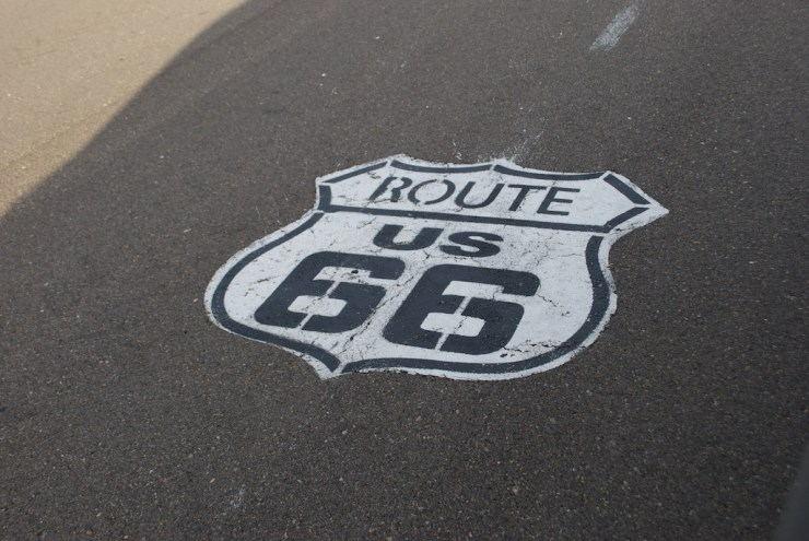 But even with the inconveniences of the night, it was indeed really cool to wake up at Route 66 !!! A great start to a great day (subject of my next post)