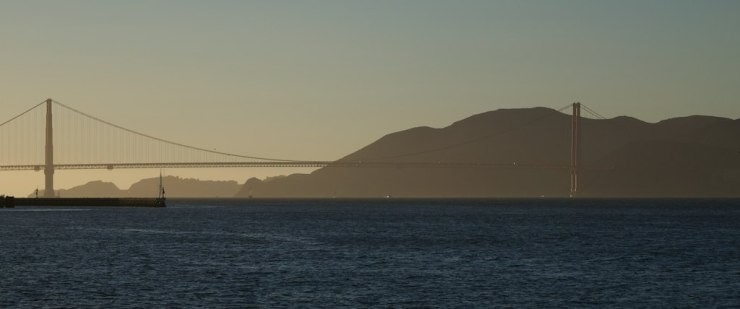 ... and the Golden Gate bridge