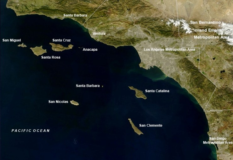 The SoCal coast and the Channel Islands - our next cruising ground for the coming month