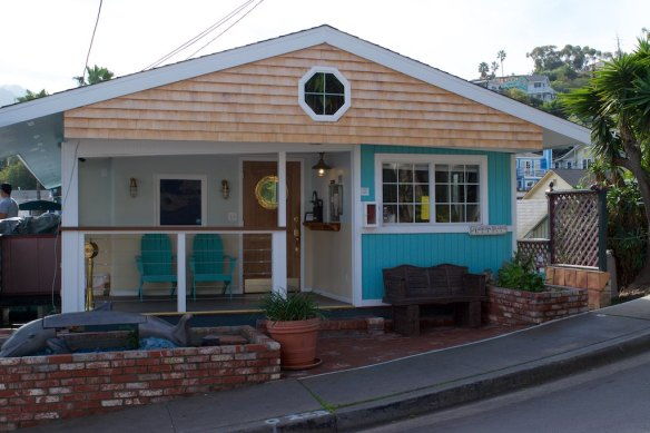 ... or this little cottage house on one of the town's backstreets