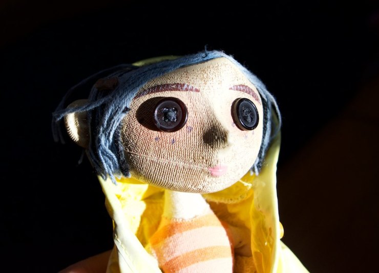... and Voila'. Coraline is ready.