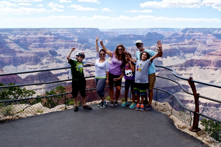 At one of the viewing points, South Rim.