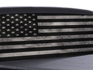 Perforated Truck Rear Window Decals