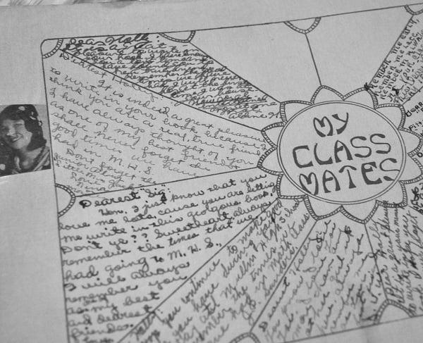 Memory Book notes