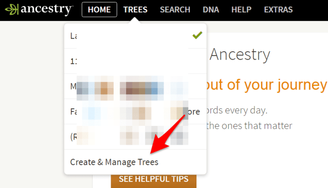 Create and Manage Trees