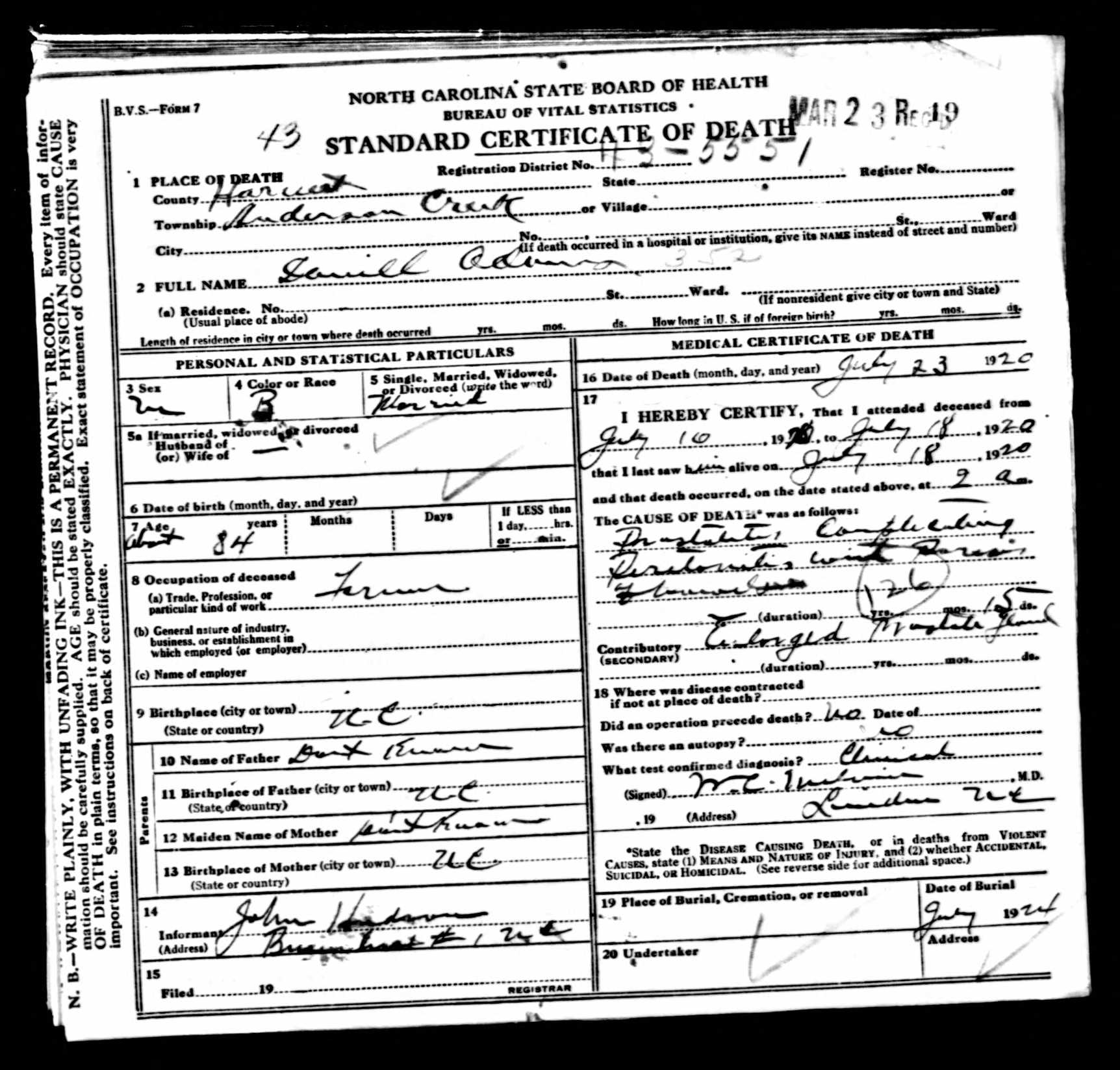 Icd Codes On Death Certificates Can Tell You How Your