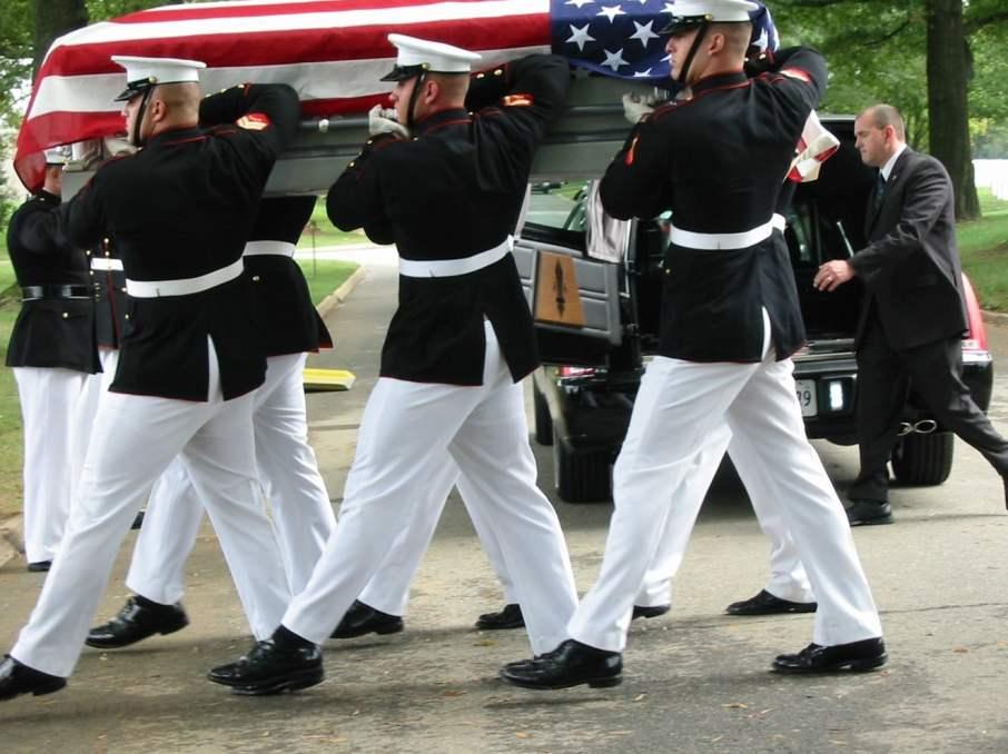 Volunteering Your Genealogy Skills, 2012 Group Burial Repatriation at Arlington National Cemetery
