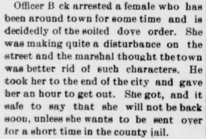 Criminal Records for Genealogy Research, The Copper Country Evening News 10-19-1897