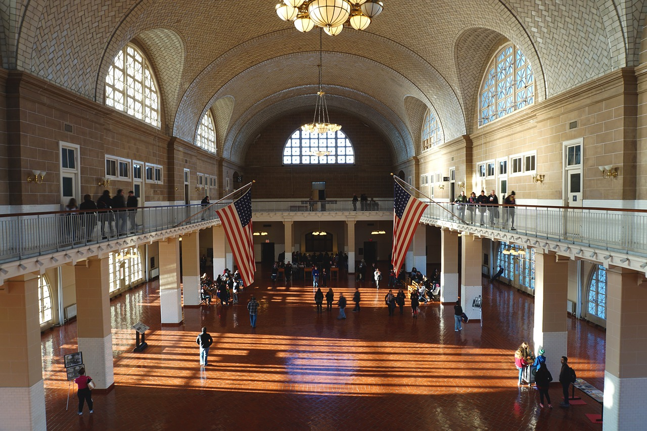 Genealogy Travel USA, Ellis Island in New York