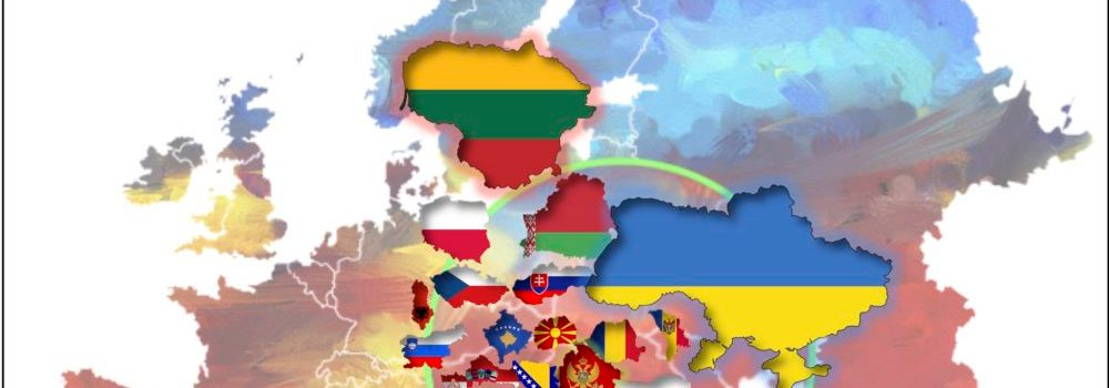 Flag Maps of Eastern Europe: Official and Alternate Names ...