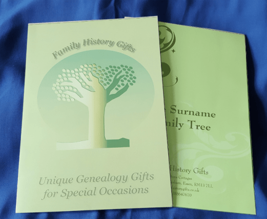 Family Tree Gift Presentation Pack