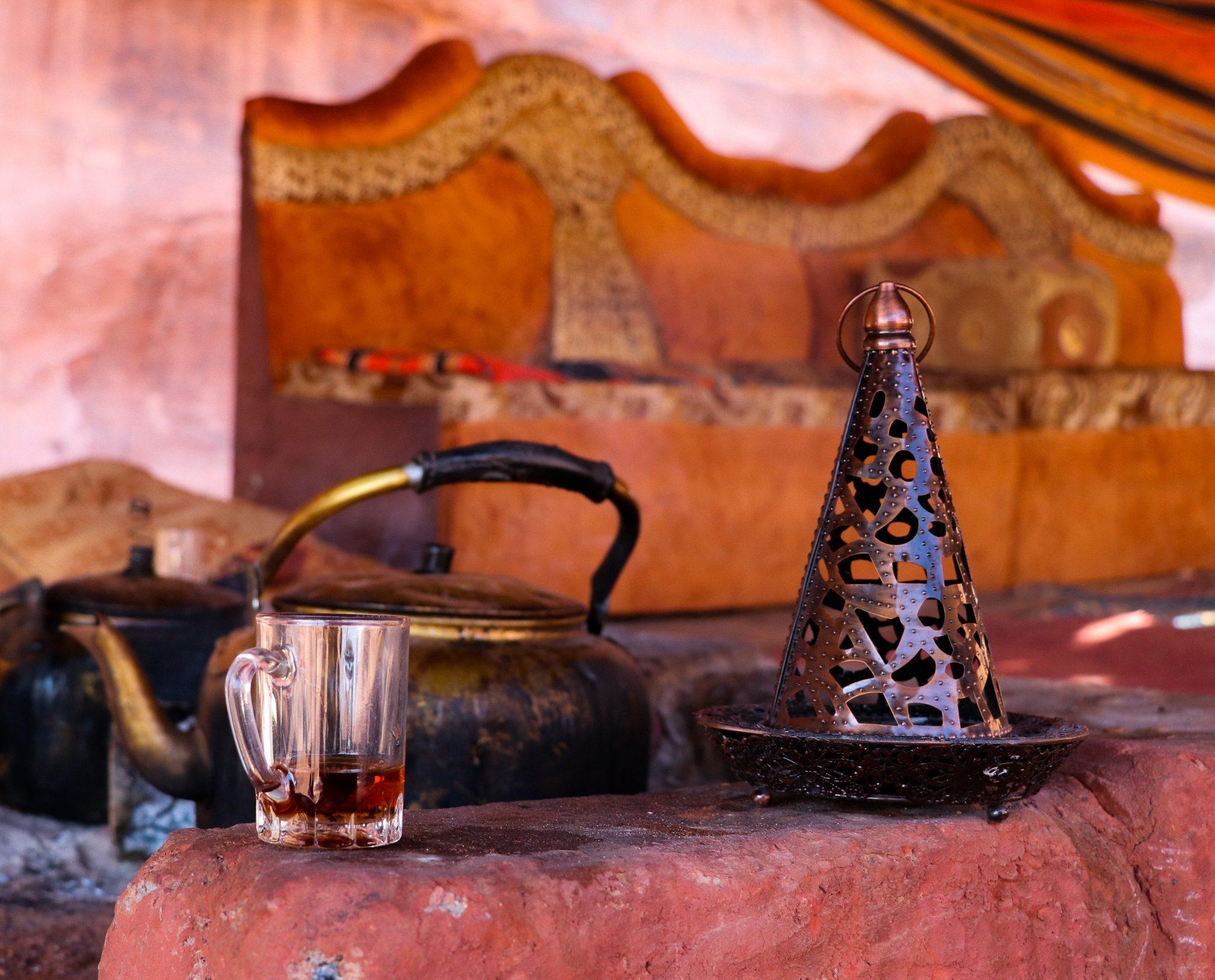 Un thé bédouin au Wadi Rum