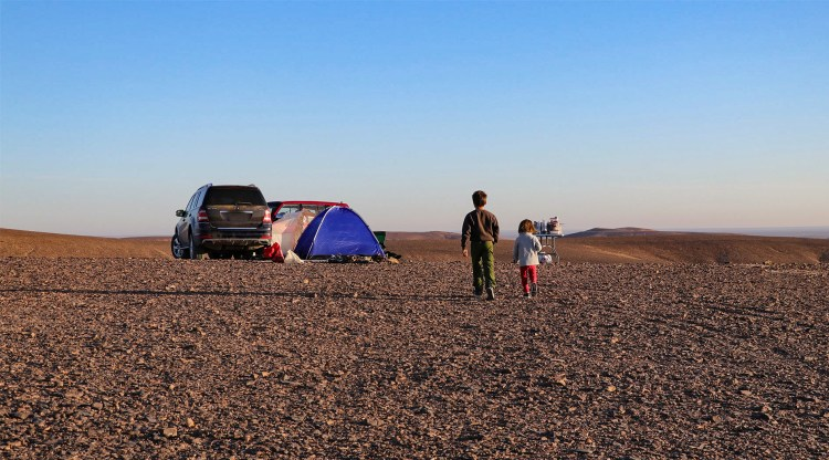 camping jordanie